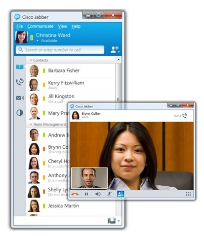 From Instanting Messaging To Full Blown Webconferencing with Cisco Jabber | Mobile Websites vs Mobile Apps | Scoop.it