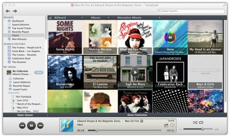 Tomahawk Relaunches its Awesome Desktop Music Player | Radio 2.0 (En & Fr) | Scoop.it