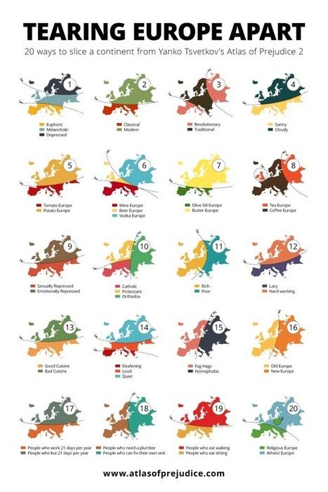 De quelle Europe faites-vous parti ? | Cartes et Insolites | Scoop.it