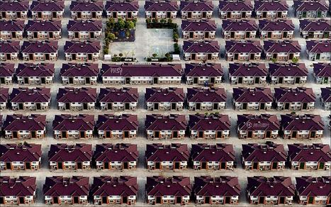 Fantastic set of aerial photos exploring the phenomenon of urbanization in China | Merveilles - Marvels | Scoop.it
