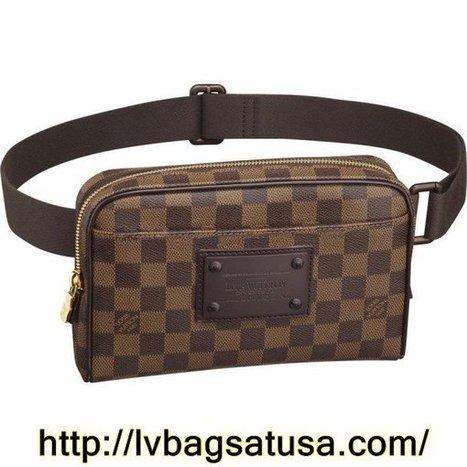 Louis Vuitton Bum Bag Brooklyn Damier Ebene Canvas N41101 | Bum bags | Scoop.it