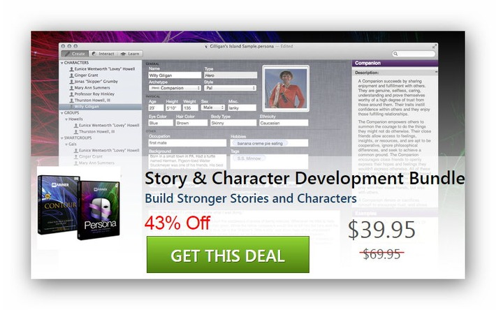 Story & Character Development Bundle | Machinimania | Scoop.it