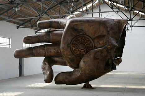 """Zhang Huan: """"Buddha Hand""""   Art Installations, Sculpture, Contemporary Art   Scoop.it"""