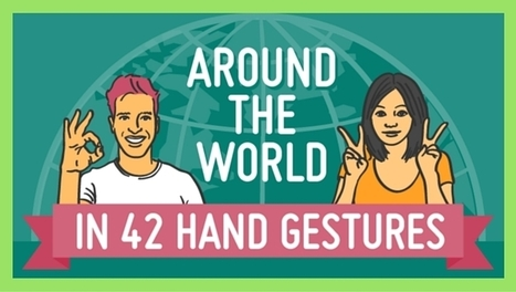 Around the world in 42 hand gestures [infographic] | Multilíngues | Scoop.it