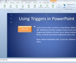 Using Triggers in PowerPoint 2010 | Keep In The Know | Scoop.it