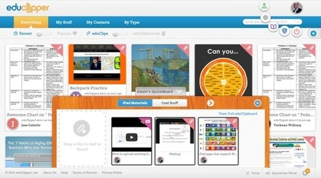 "EduClipper Launches Its ""Pinterest For Education"" 
