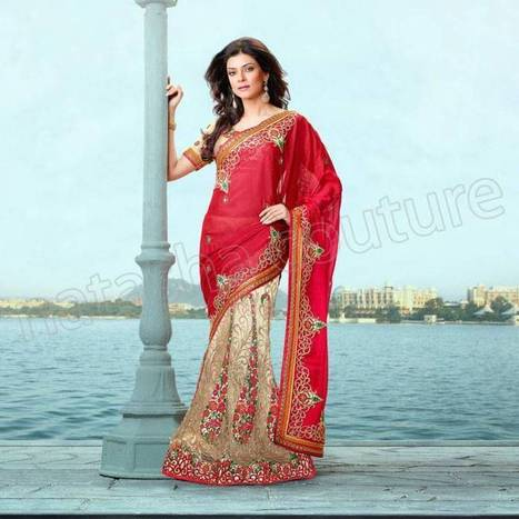 Sushmita Sen's Sarees ready to wear|Lahnga Collection-2014 - ..:: Fashion Wd Passion ::.. | Wear Fashion with Style | Scoop.it