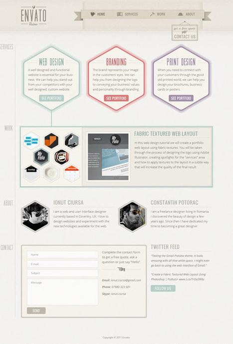 [#Ressources] 10 tutoriels #webdesign gratuits pour vous perfectionner | WebDesign | Scoop.it