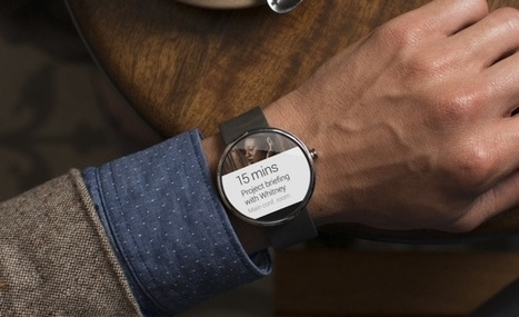Motorola's Smart Watch Looks Pretty Sweet | MIT Technology Review | Digital Technologies for businesses | Scoop.it