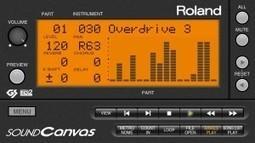 Roland - Sound Canvas sur Ipad et Iphone en PROMO | Cavagroover | Scoop.it