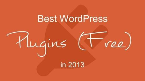 Best WordPress Plugins (Free) & Widgets Top in 2013 | local online marketing | Scoop.it