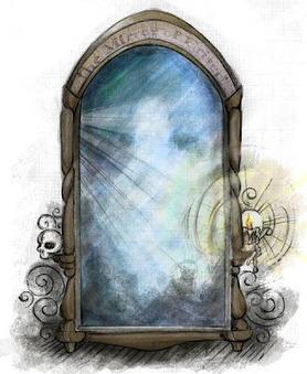 Pottermore Insider: Pottermore art: The Mirror of Erised | Pottermore | Scoop.it