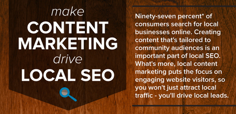 Using Content Marketing to Improve Local SEO | Content Marketing & Social Media | Scoop.it
