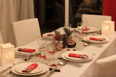 Une jolie table de fêtes grâce à Invite & Décor ! | décoration & déco | Scoop.it