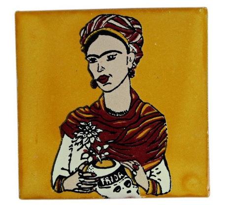 Frida Ceramic Tile in Yellow | Frida Ceramic Tile in Yellow | Scoop.it