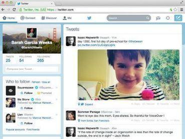 Twitter redesenha aplicativo web de olho em apps para iPhone e Android - IDG Now! | Tecnologia e Comunicação | Scoop.it