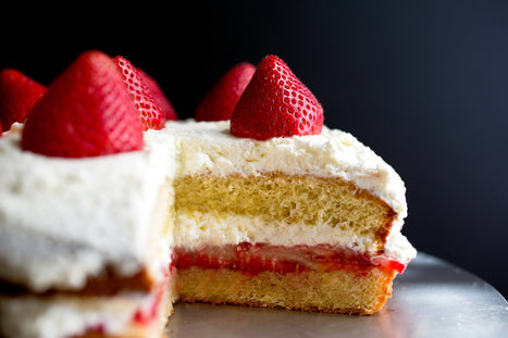 Strawberry Shortcake with Lemon-Pepper Syrup Recipe | ♨ Family & Food ♨ | Scoop.it