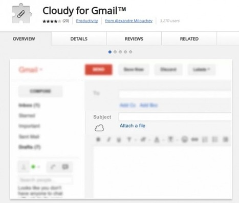 Adjunta en Gmail archivos de Dropbox, Box, Picasa, Instagram, etc. | Recull diari | Scoop.it