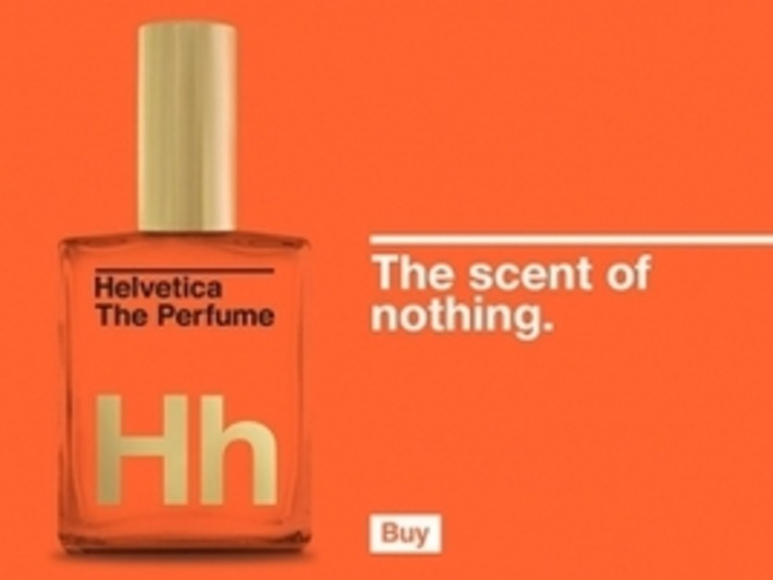 Helvetica Perfume, 'For Those Who Dare to Be the Same' | Nerdy Needs | Scoop.it