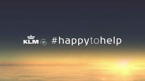 KLM veut aider tous les voyageurs sur les réseaux sociaux avec #HappytoHelp | Brands & Entertainment - Cinema, Art, Tourism, Music & more | Scoop.it