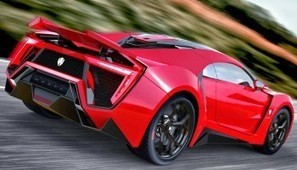 Facts about Lykan Hypersport - The Fast Cars | Future car Motorcycle | Scoop.it