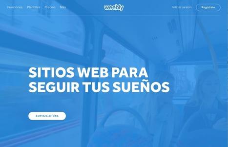 Así es Weebly, una herramienta para crear tu web sin conocimientos de diseño | Recull diari | Scoop.it