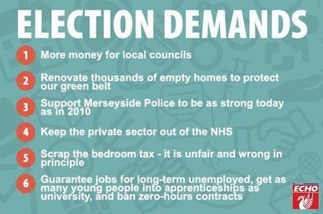 Revealed: YOUR Merseyside manifesto for the General Election   Trade unions and social activism   Scoop.it