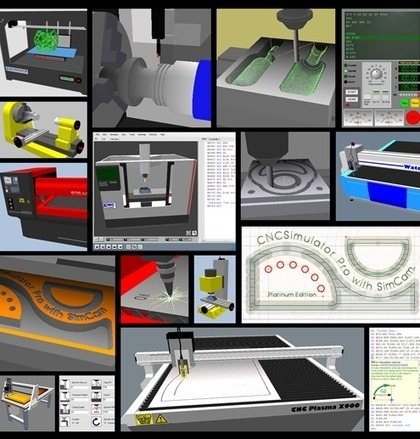 logiciel gratuit professionnel cncsimulator pro 2013 atelier virtuel simulation machines 3d. Black Bedroom Furniture Sets. Home Design Ideas
