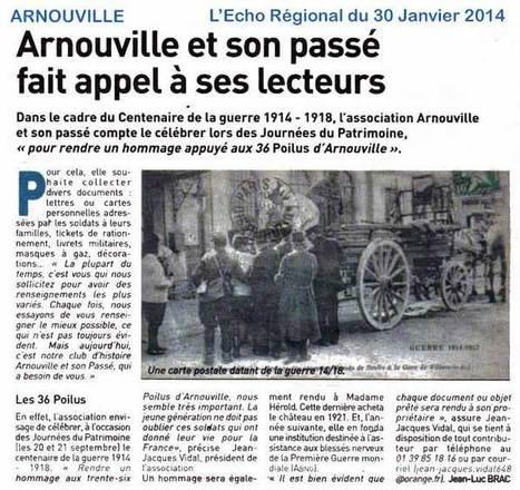 MERCI... | Arnouville et son Passé | Arnouville et son Passé: Association sur l'histoire de la ville | Scoop.it