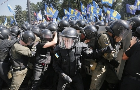 Death toll from riots outside Ukraine's Rada rises to three — National Guard | Global politics | Scoop.it