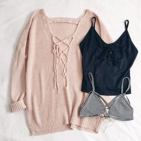 How to Mix & Match Sweater Outfit For Fall » Celebrity Fashion, Outfit Trends And Beauty News | Celebrities | Scoop.it
