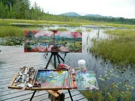 Advice on Your First Plein Air Competition | plein air painting | Scoop.it