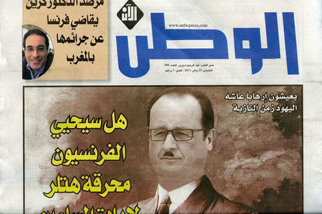 ☢ Maroc : François Hollande comparé à Adolf Hitler en Une d'un journal marocain | Actualités Afrique | Scoop.it