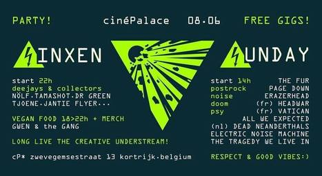 Sinxen Sunday à Ciné Palace ce week-end !   Headwar   Scoop.it
