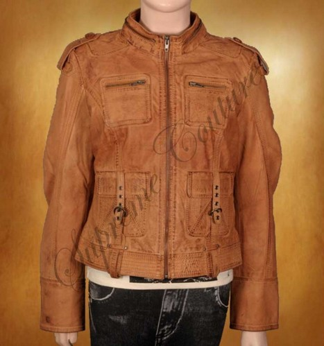 Native Regular Colored Jacket is fitted with a shade of camel | WOMEN JACKETS | Scoop.it