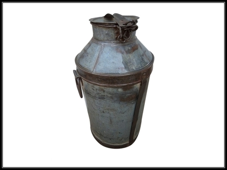 Old World Milk Canister   Furniture and Home Decor   Scoop.it