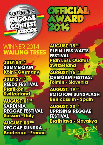 EUROPEAN SUMMER TOUR 2014!!!! Let's go !! | Wailing Trees | Scoop.it