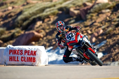 Pikes Peak - Spider Grips Ducati Team Back to Defend Record | Ductalk Ducati News | Scoop.it