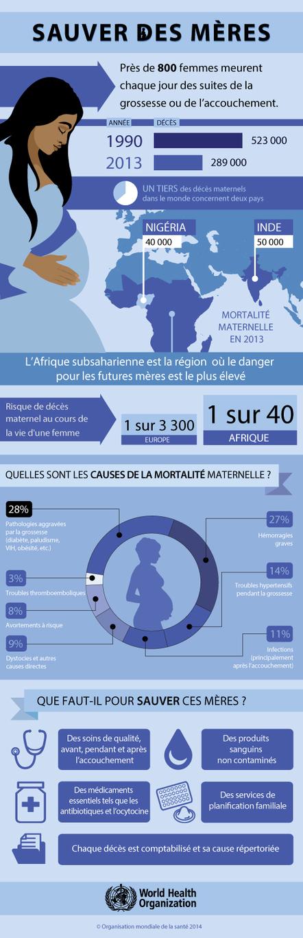 Infographie : Sauver des mères | French Authentic Texts | Scoop.it