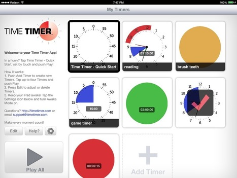 Time Timer (iPad) | idevices for special needs | Scoop.it