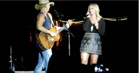 Kenny Chesney and Miranda Lambert deliver a steamy duet that had the crowd begging for more | Country Music Today | Scoop.it