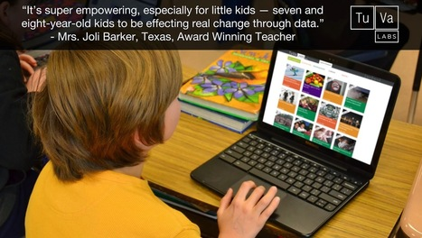 IDOE Digital Learning Month Web 2.0 Challenge: Students Can Explore Data Literacy with TuvaLabs | Edtech PK-12 | Scoop.it
