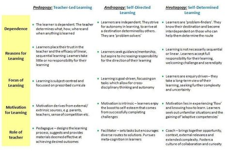How social networking tools enable Heutagogy in learning organisations | Edumorfosis.it | Scoop.it