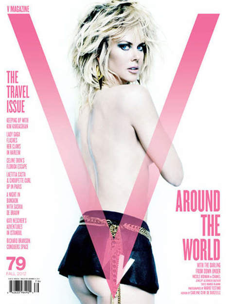 Photo : Nicole Kidman montre ses fesses dans V Magazine | Nicole Kidman | Scoop.it