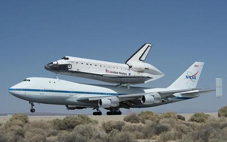 Spot the Shuttle: Endeavor Makes its Final Flight [PICS]   STEM and EdTech News   Scoop.it