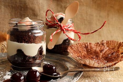 "Forêt noire ""in a jar"" | Cooking | Scoop.it"
