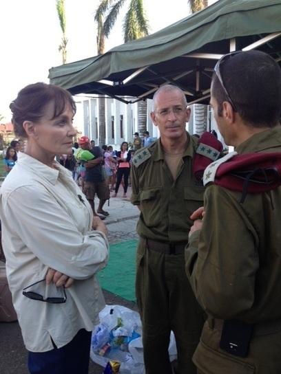 Dr. Nancy Snyderman 'in awe' of Israeli medics in Philippines | Humanity | Scoop.it