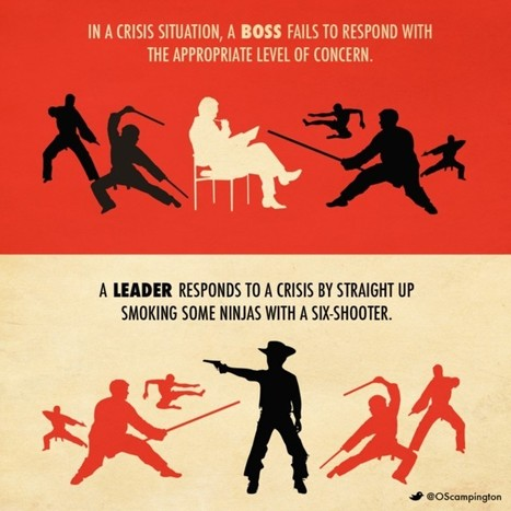Leaders vs. Bosses: The 10 Big Differences | New Leadership | Scoop.it