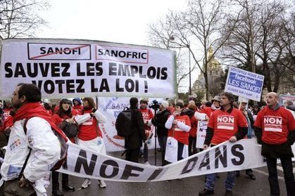 Sanofi: la justice annule le plan de restructuration | L'actualité Industrie Pharma | Scoop.it