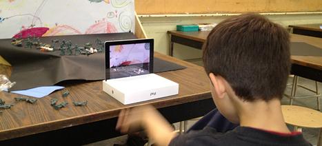 Using the iPad and the NFB's PixStop app in your classroom | NFB.ca blog | iCt, iPads en hoe word ik een ie-leraar? | Scoop.it